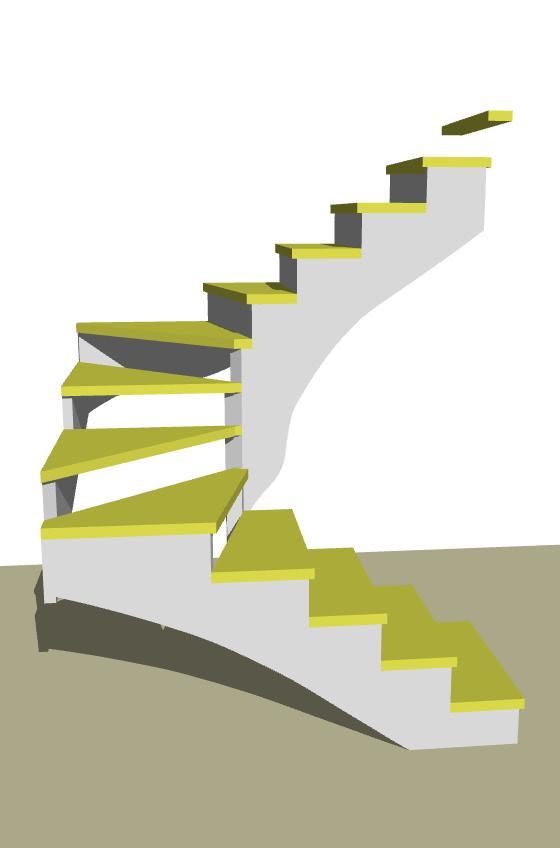 Návrhy schodov - Obrázok č. 71