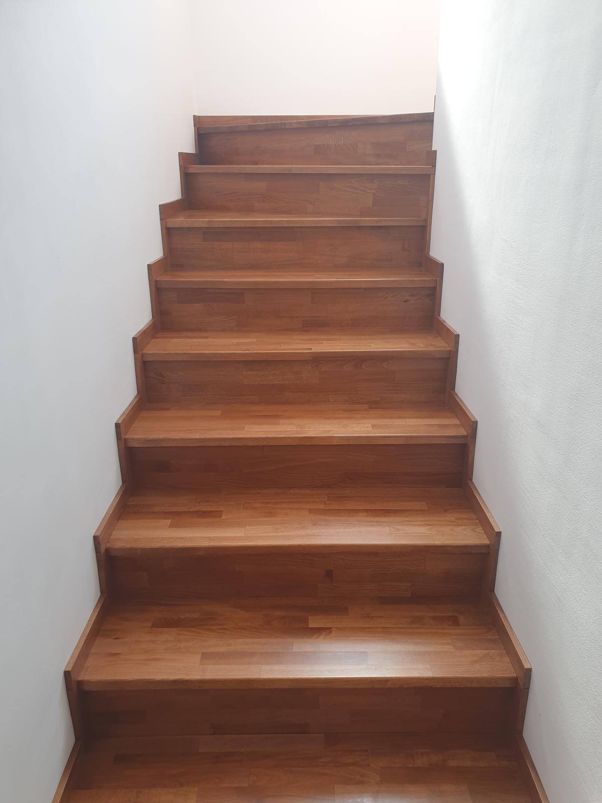 Drevené schody na mieru - BUK - 279 - Obrázok č. 1