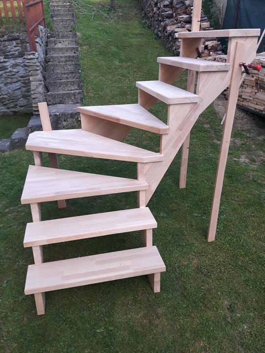 Drevené schody na mieru - BUK - 279 - Obrázok č. 11