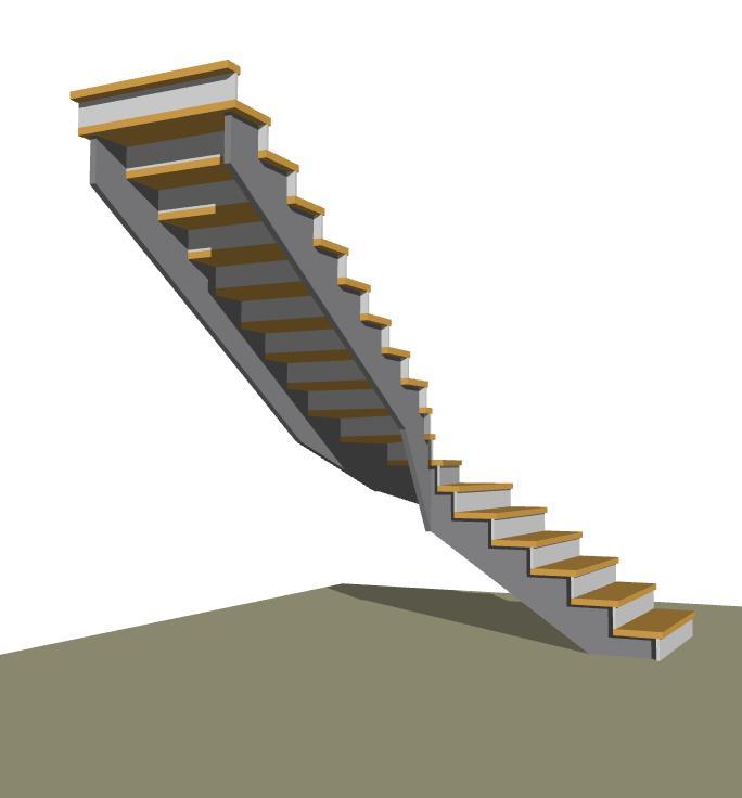 Návrhy schodov - Obrázok č. 79