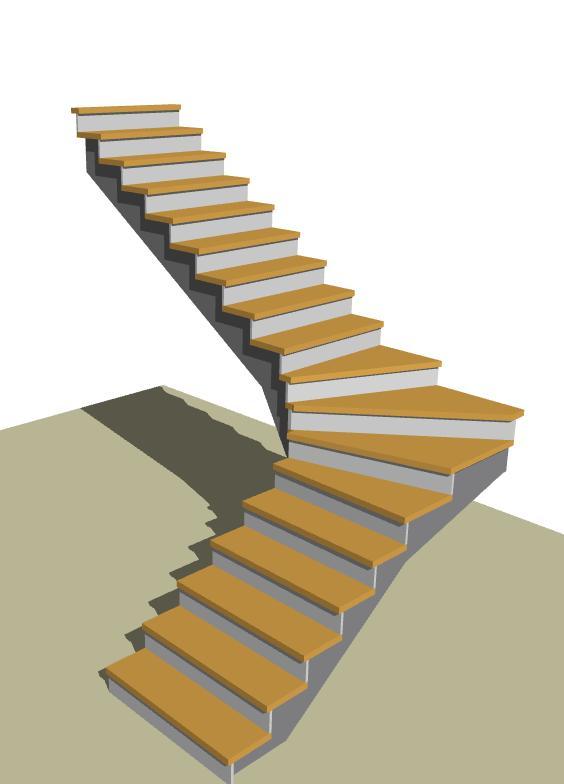 Návrhy schodov - Obrázok č. 80