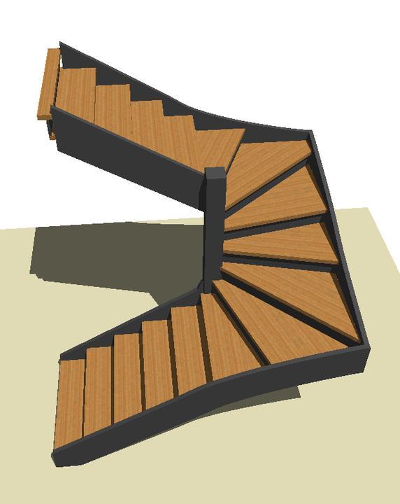 Drevené schody na mieru - BUK - odtieň DUB - Obrázok č. 22