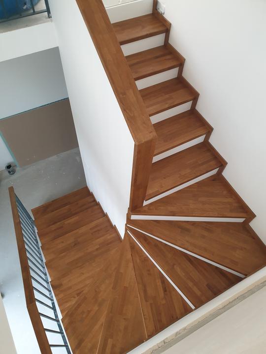 Drevené schody na mieru - BUK - Mezonet -Presov - Obrázok č. 3
