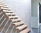 Drevené schody - BUK - DUB,