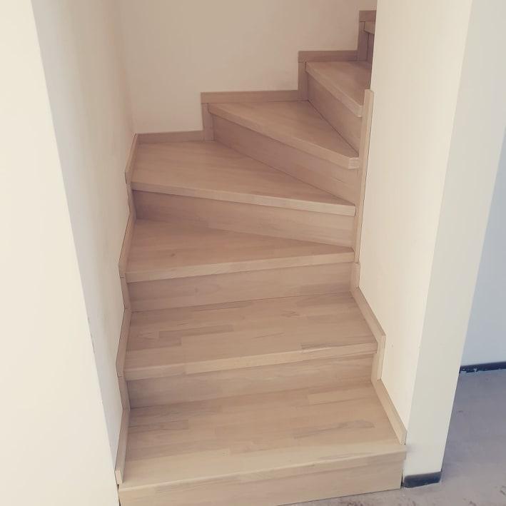 Drevené schody na mieru-BUK-DUB hrúbky 18,28,38 mm - Obrázok č. 1