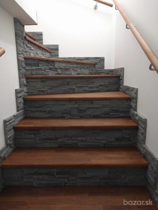 Drevené schody na mieru - BUK - odtieň DUB - Obrázok č. 24