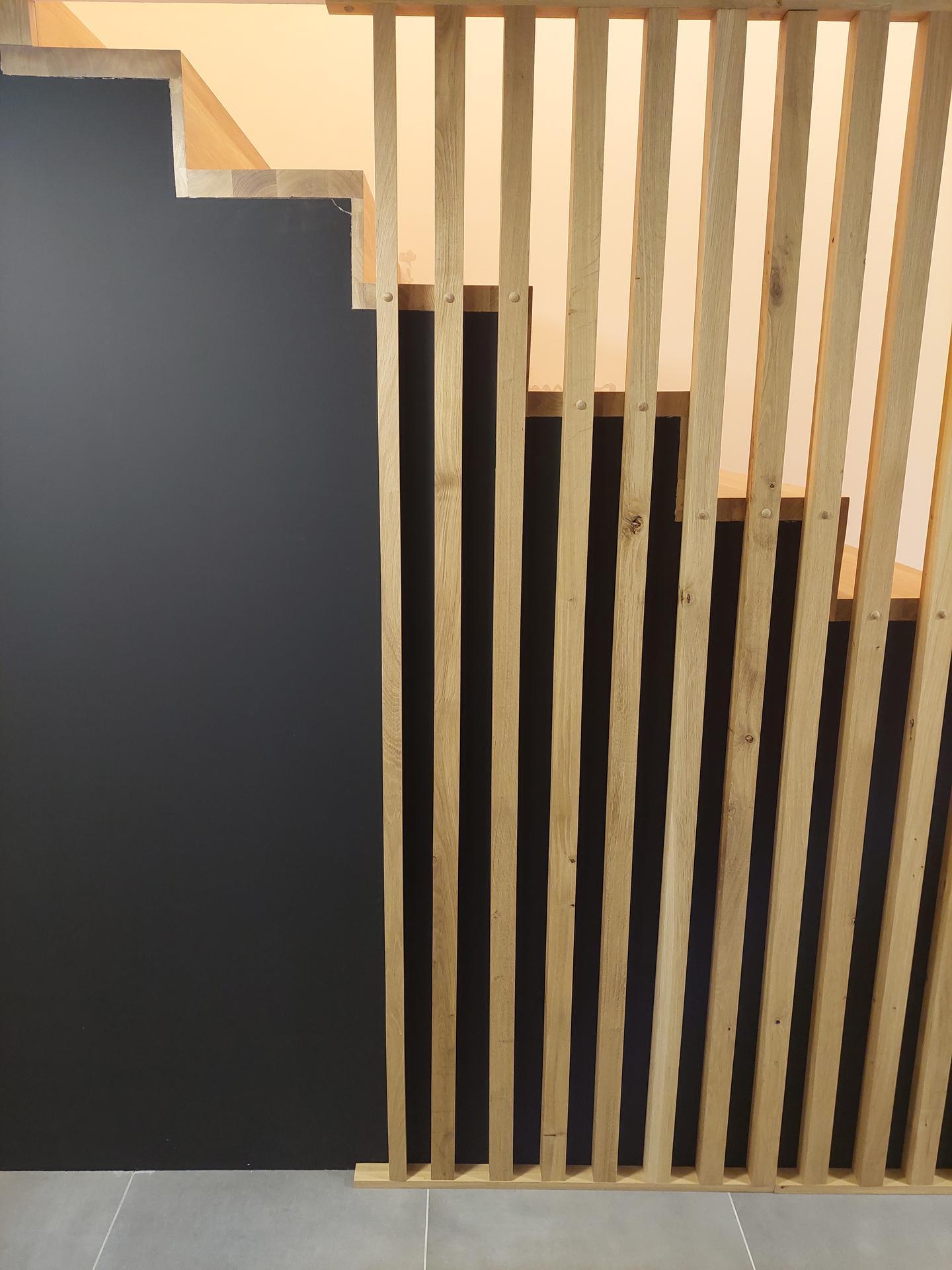 Moderné schodisko - DUB + lamely - Obrázok č. 24