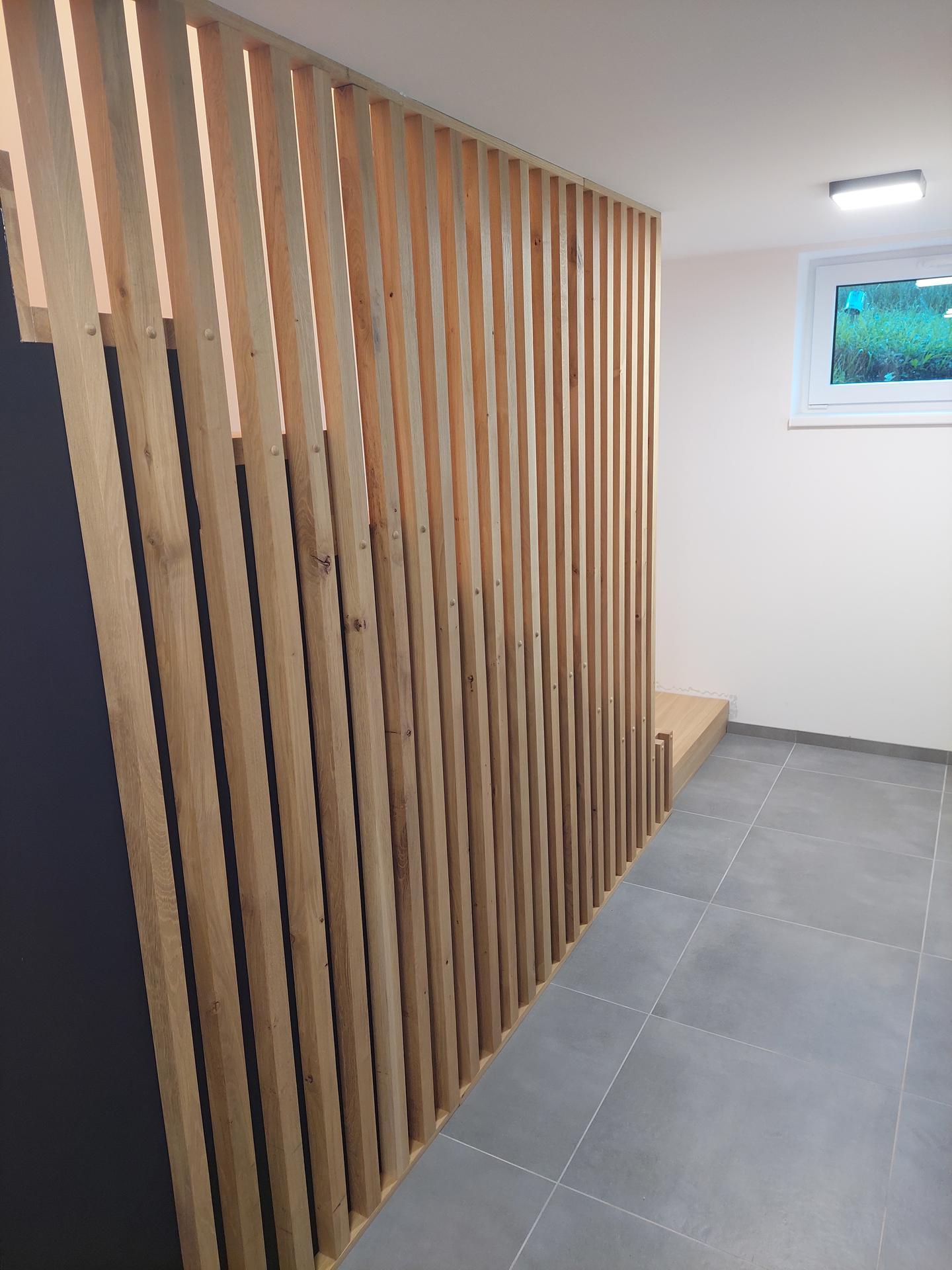 Moderné schodisko - DUB + lamely - Obrázok č. 26