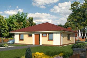 Staviame bungalov 961 s garážou