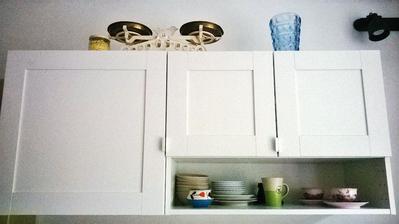 malá kuchyň, málo místa