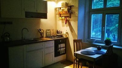 Kuchyň už hotová a zabydlená