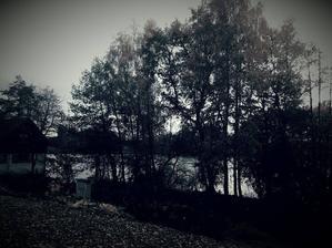 Výhled z verandy: Rybníky u Ondřejova, na léto opravíme loďku a bude romantika