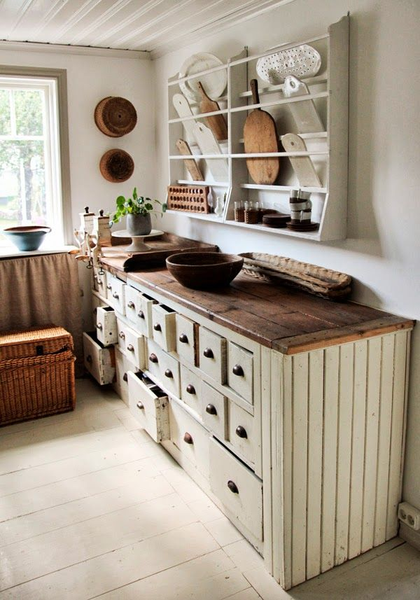 Na chatě u Pejru - inspirace jak vylepšit kuchyňku