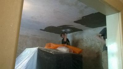 nové omítky a stropy