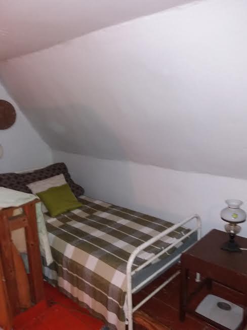 Na chatě u Pejru - současné spaní v podkroví u nás