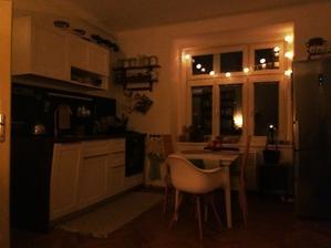 když večer odpočívám na sedačce, ten pohled do uklizené kuchyně miluji.