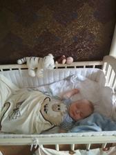 po novém roce bude přeměna ložnice na dětský pokoj se spaním pro rodiče :D