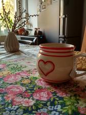 Oblíbený hrnek na čaj