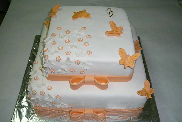 Zuzka a Ferko - krasna torta
