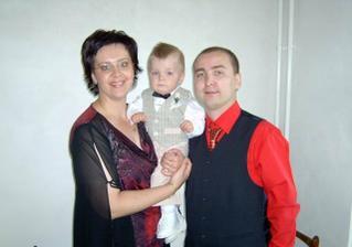 sestra Martinka s manželom a Andrejkom