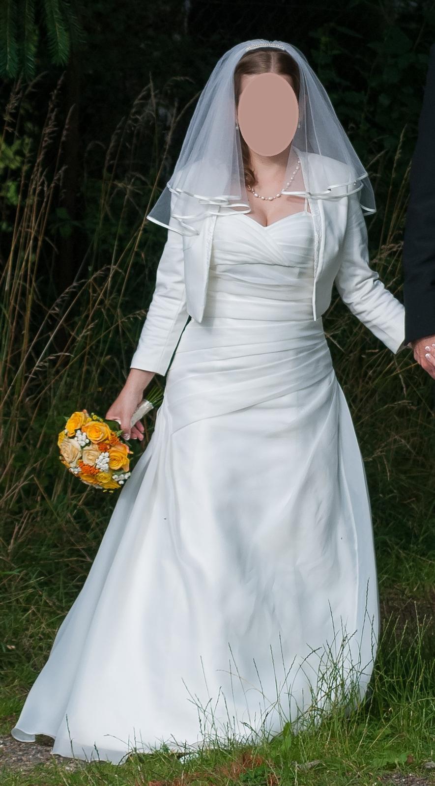 Svatební šaty 36/38 - Obrázek č. 1