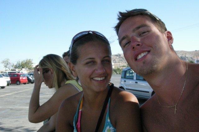 Zuzanka a dominik  15.august.2009 - to sme trochu prehnali n apláži