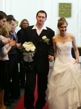 Novomanželé Langerovi