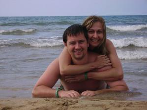 lenošení na plaži