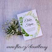 Svatební oznámení - Eliška,