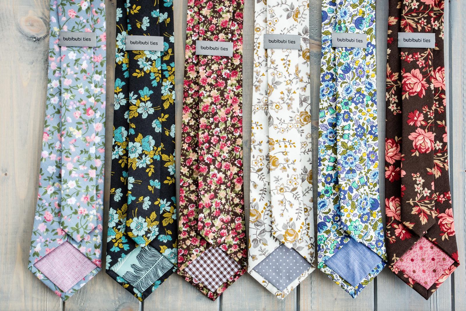 bubibubi_ties - Ručně šité kravaty na rustikální svatbu.