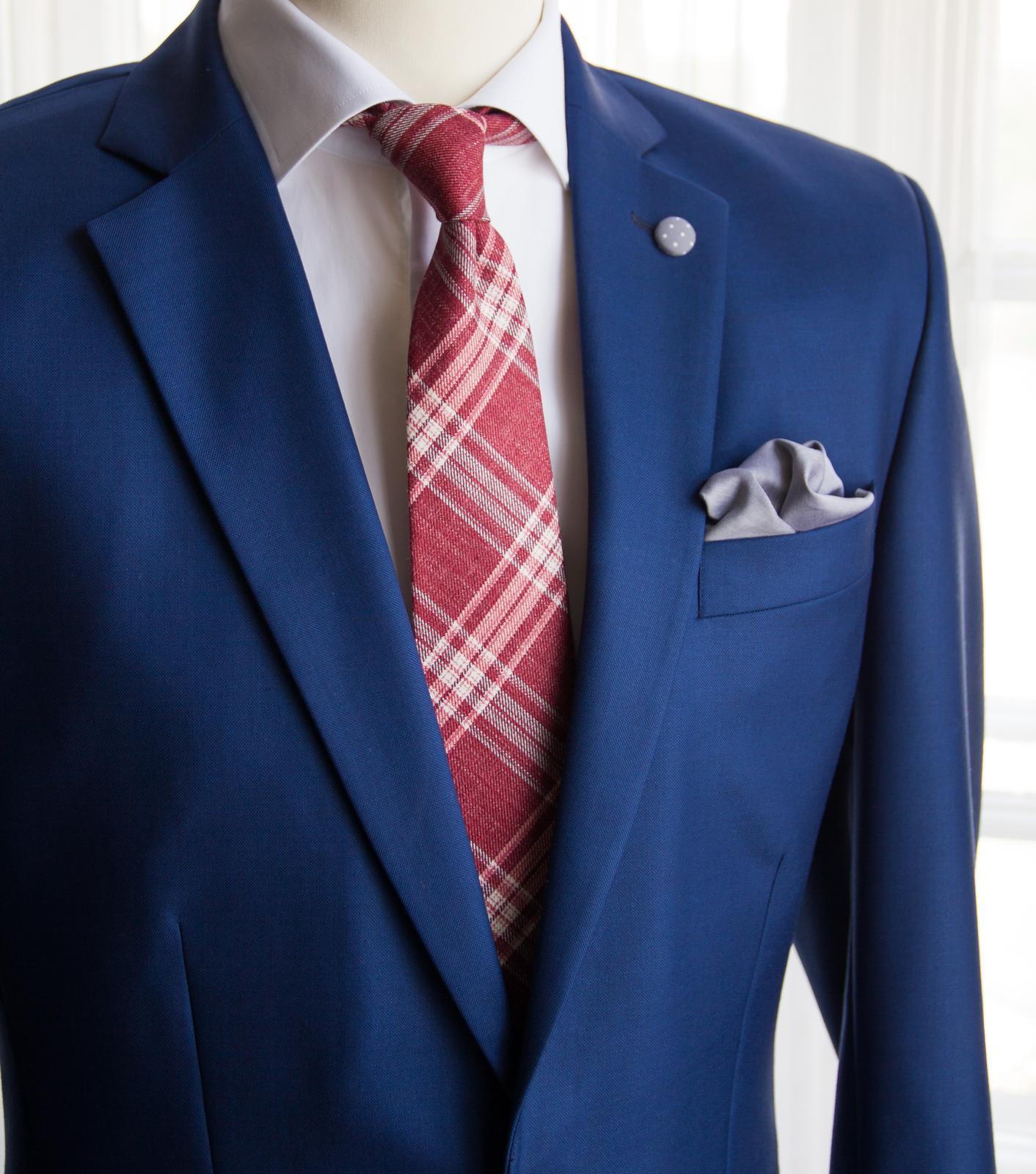 bubibubi_ties - Károvaná kravata.