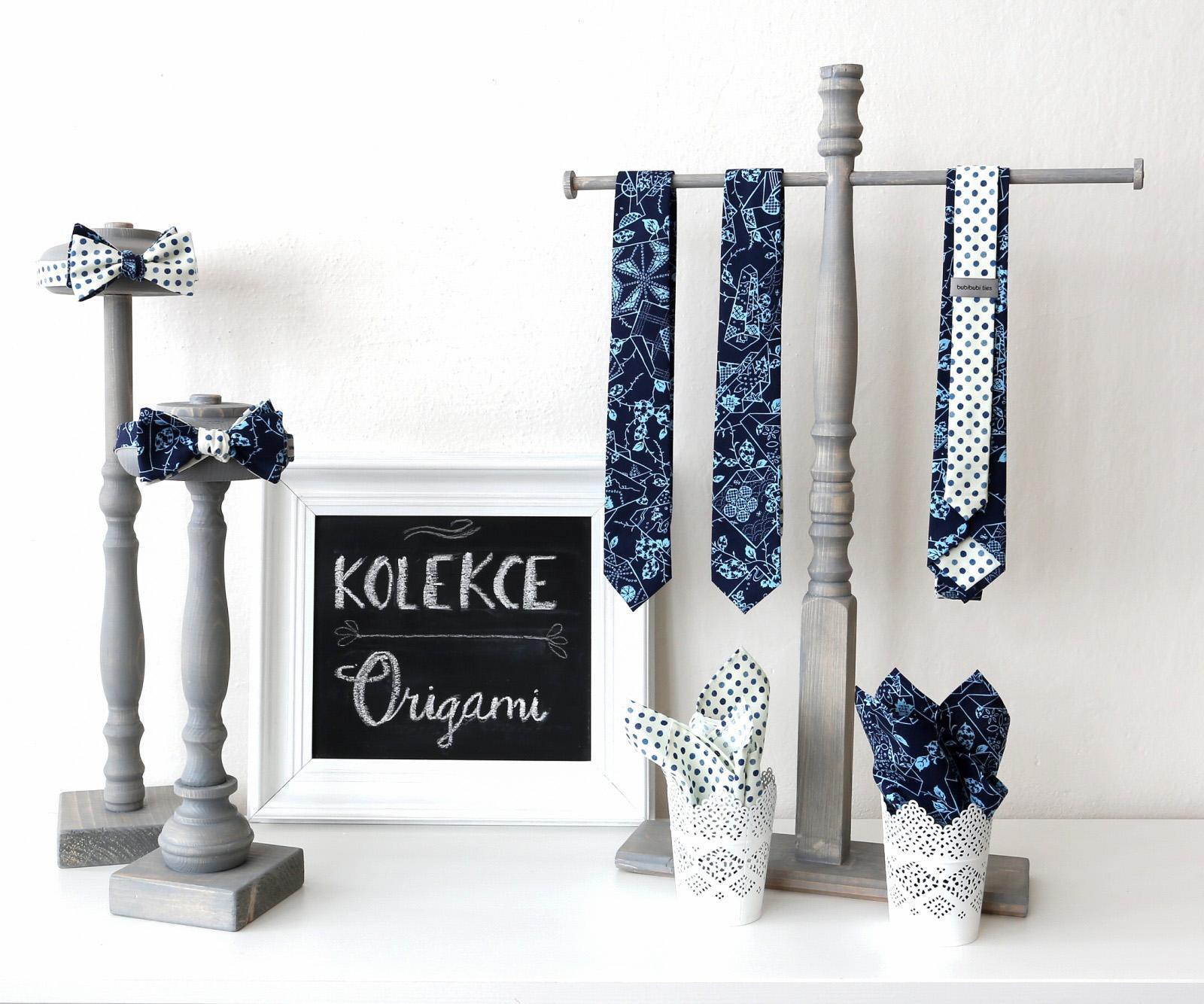 bubibubi_ties - Kolekce kravat a motýlků Origami.