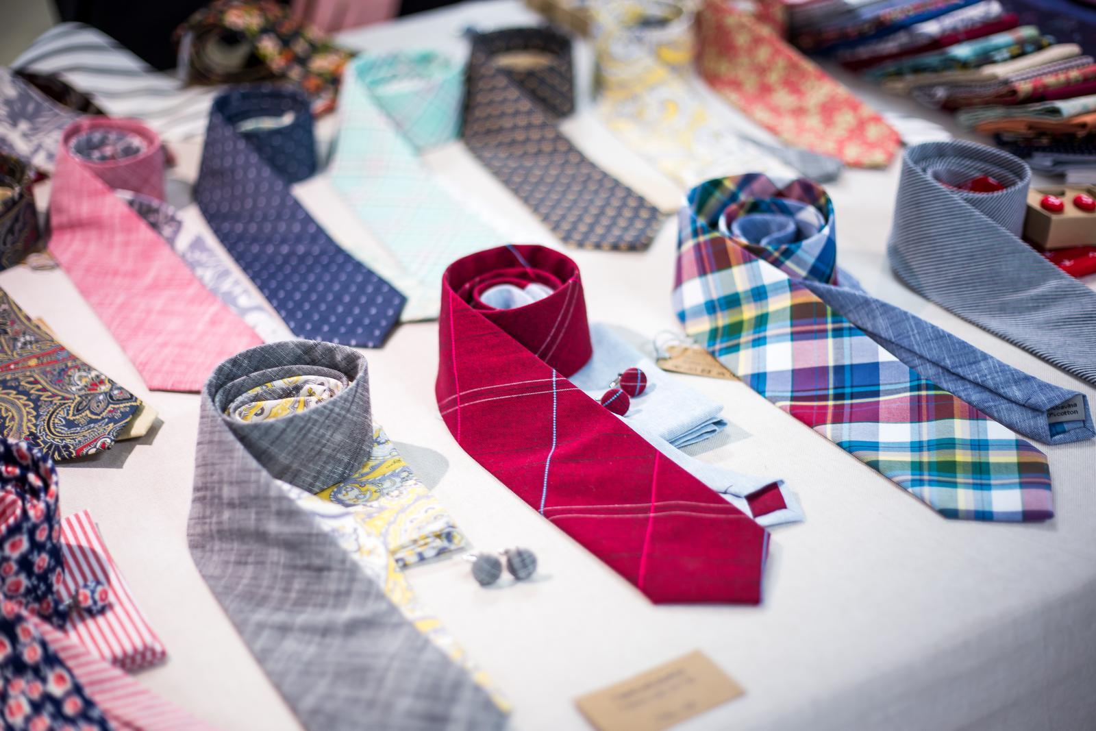 bubibubi_ties - Twin kravaty a kapesníčky do saka.