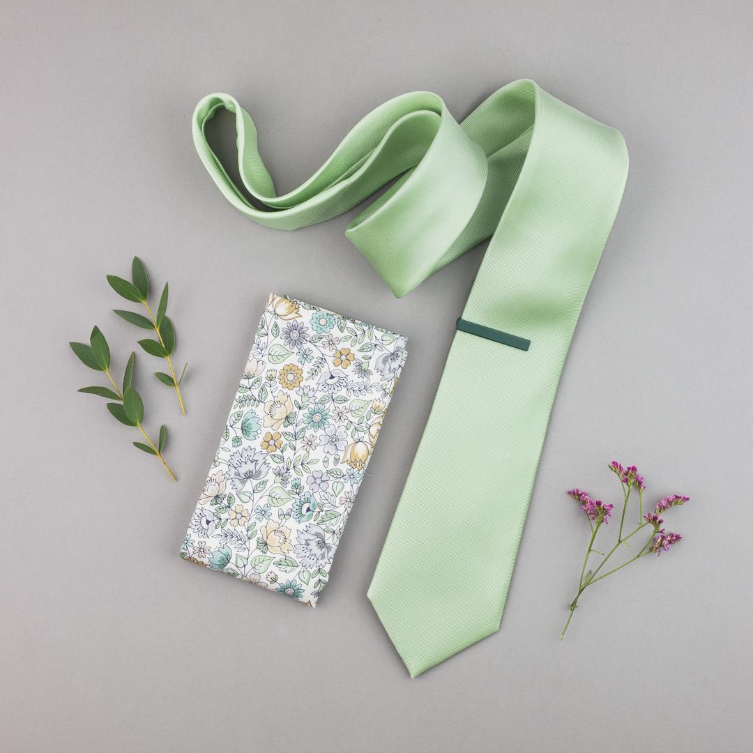 JARNÍ HIT: PASTELOVÉ KRAVATY - Hedvábná kravata v pastelových tónech