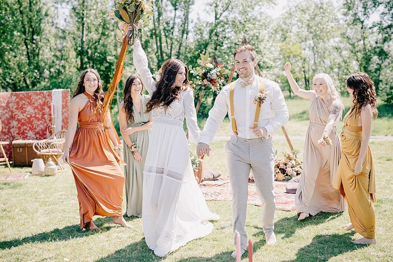 Svatba v boho stylu - Obrázek č. 1