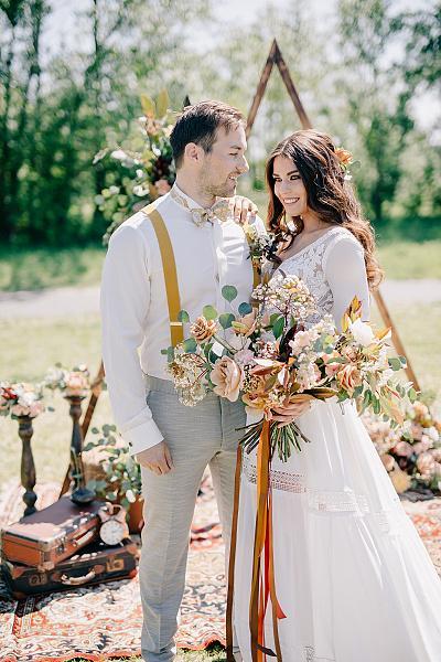 Svatba v boho stylu - Obrázek č. 18
