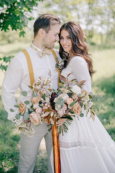 Svatba v boho stylu - Obrázek č. 34