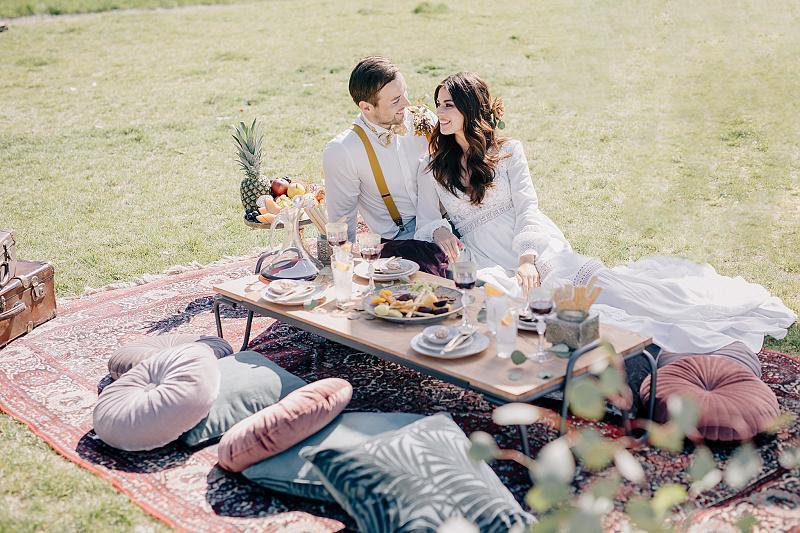Svatba v boho stylu - Obrázek č. 38