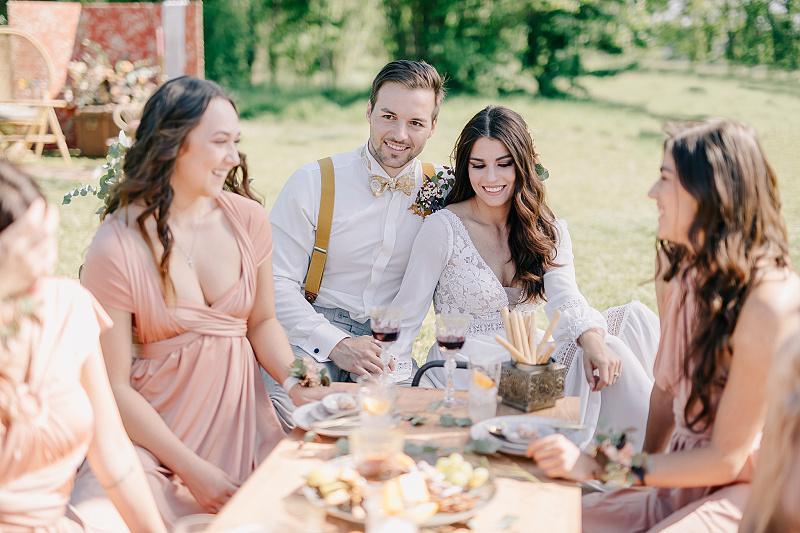Svatba v boho stylu - Obrázek č. 41
