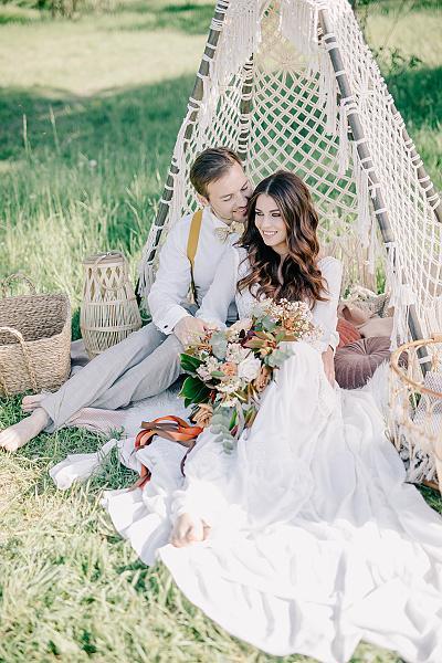 Svatba v boho stylu - Obrázek č. 52