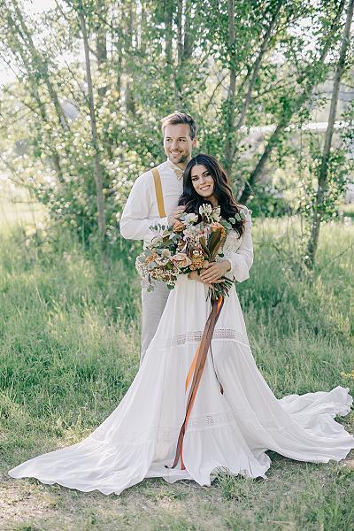 Svatba v boho stylu - Obrázek č. 53