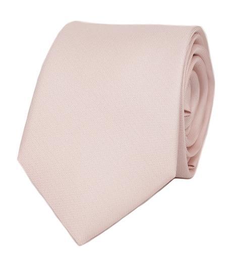 Růžová hedvábná kravata - Obrázek č. 1