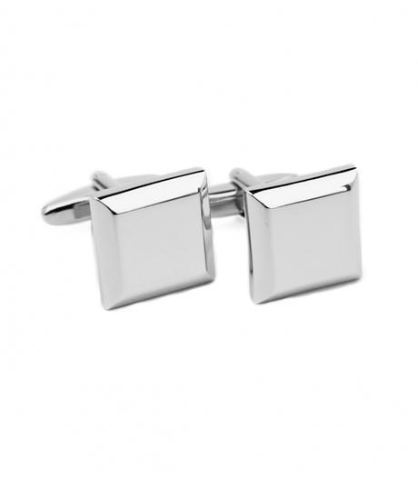 Manžetové knoflíčky stříbrný čtverec - Obrázek č. 1