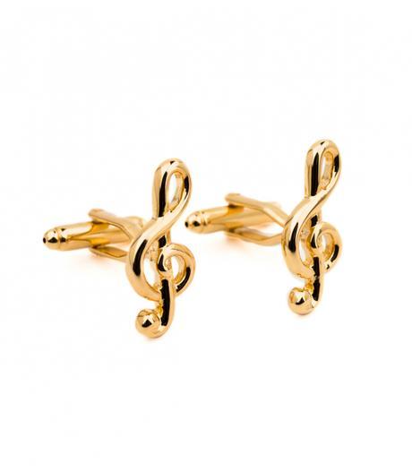 Manžetové knoflíčky houslový klíč - Obrázek č. 1