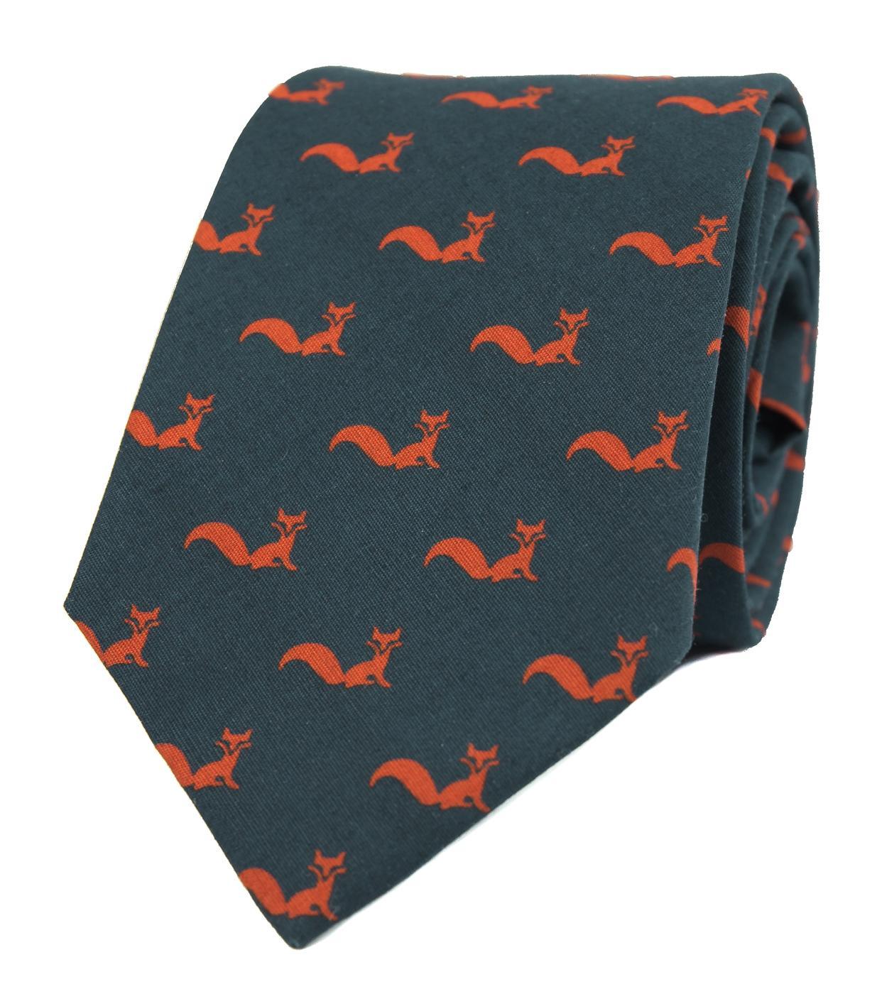 Kravata s liškami - Obrázek č. 1