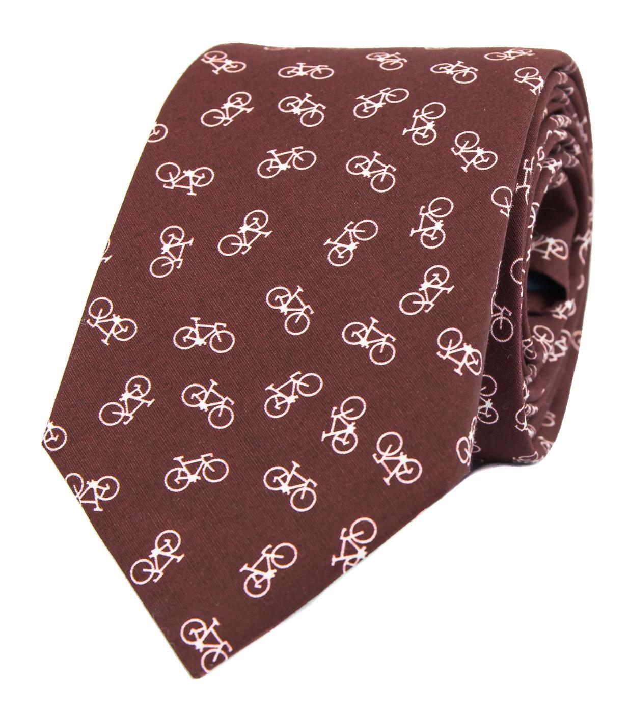 Vínová kravata s koly - Obrázek č. 1