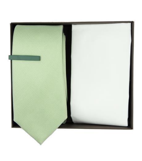 Mint kravatová svatební sada - Obrázek č. 1
