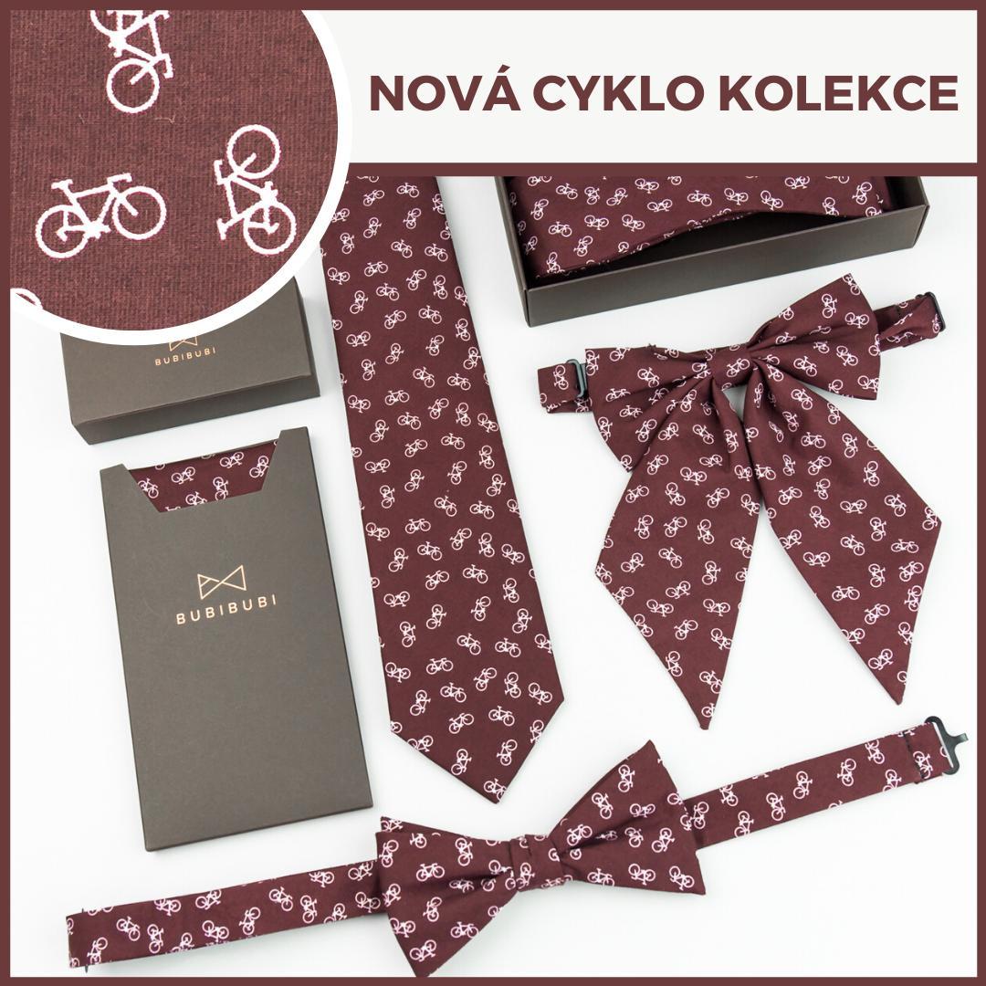🔥 NOVÁ CYKLO KOLEKCE 🔥 Užijte si trochu zábavy s novými kravatami a motýlky s koly. Vyberte si svůj oblíbený kousek:  ➤➤➤ www.bubibubi.cz/cyklo-kolekce/s189.htm - Obrázek č. 1