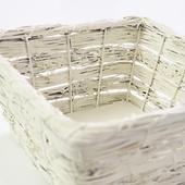 Košík na svatební koláčky/vývazky,
