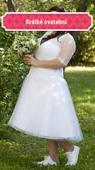 Krátké svatební šaty vel.44 zn.Madora , 44